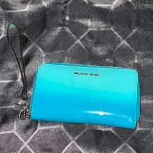 Michael Kors Blue Ombre' Wallet
